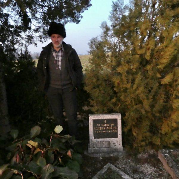 Matjaz Anzur, graveyard, Slovenia